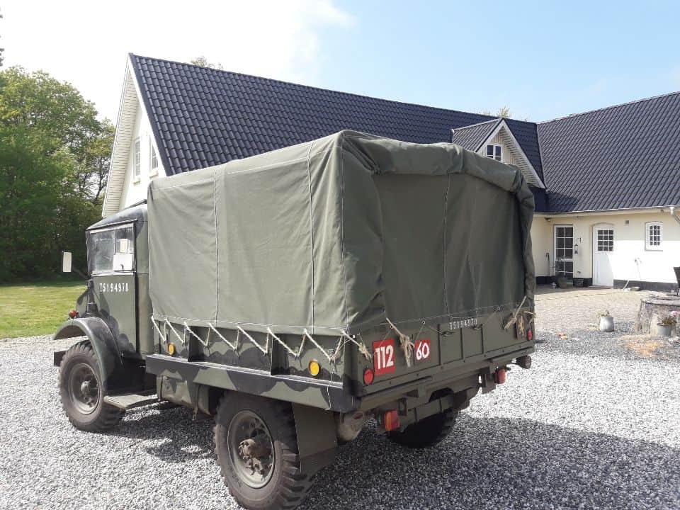 Militær veteran køretøj, presenning til ruf