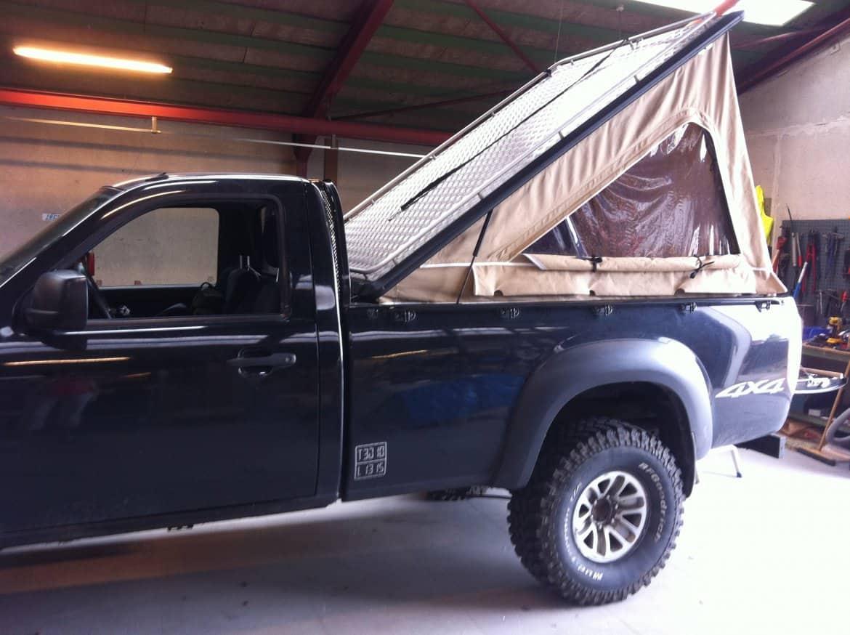 Pickup presenning til Toyota Hilux