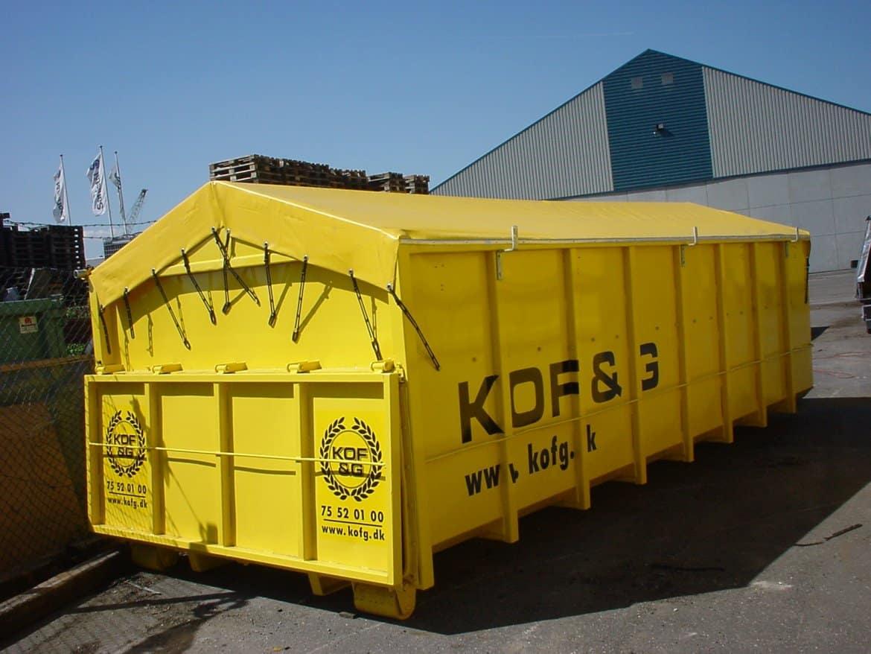 Presenning til container
